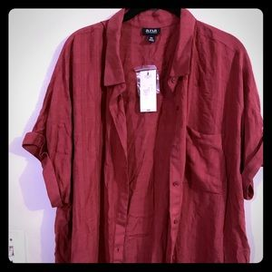 Rust blouse. NWT